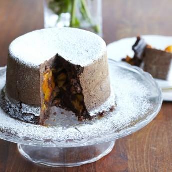Ricetta Ricetta: Budino Con Fiocchi Di Avena, Pere E Cioccolato