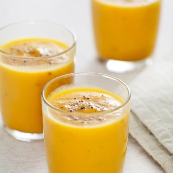 ricetta Gazpacho di peperoni gialli