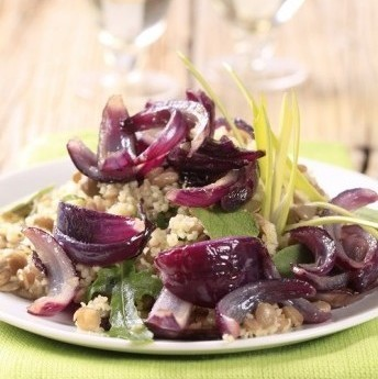 ricetta Insalata fredda di farro e cipolla