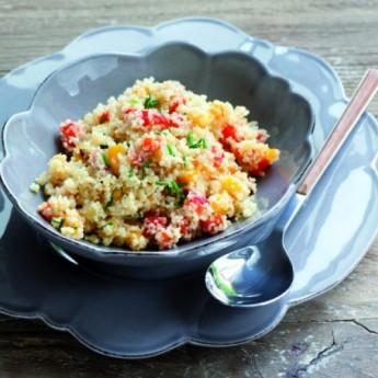 ricetta Insalata di peperoni e cous cous