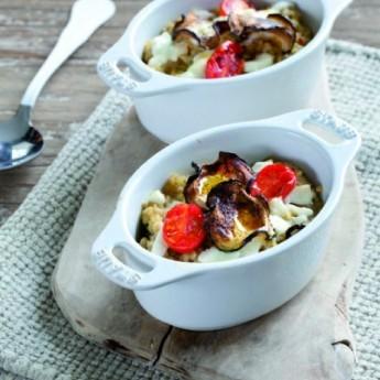 ricetta Parmigiana di bulghur