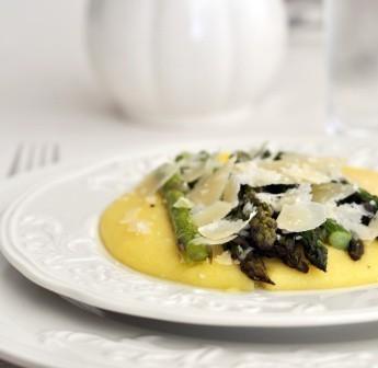 Ricetta Polenta Morbida Con Asparagi