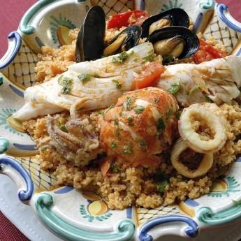 ricetta Cous cous di pesce