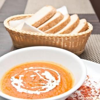 ricetta Crema di carote e zafferano