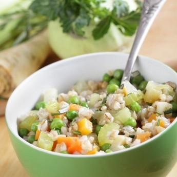 ricetta Farro alle verdure di stagione