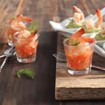 ricetta Finger guacamole e gazpacho
