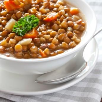 ricetta Minestra con lenticchie tradizionale
