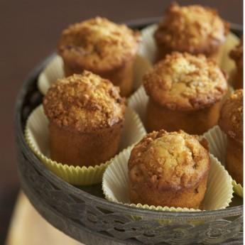 Muffin Di Miglio, Mele E Cioccolato
