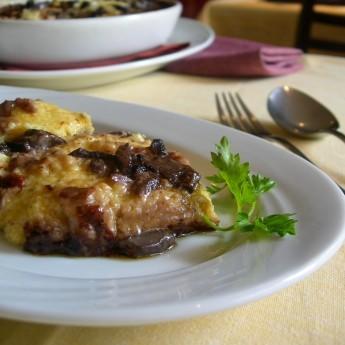 Ricetta Polenta Con Funghi Porcini