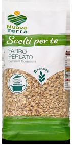 ricette con Farro Perlato Coltivato in Italia