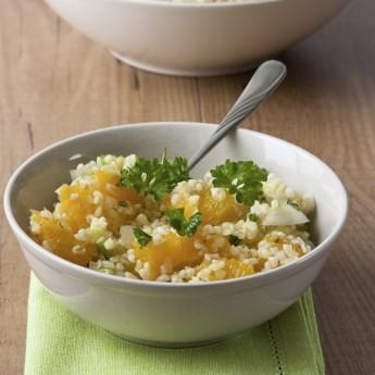 ricetta Insalata di bulghur con sedano e arancia