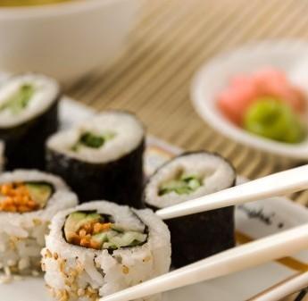 Sushi Rolls Al Sesamo