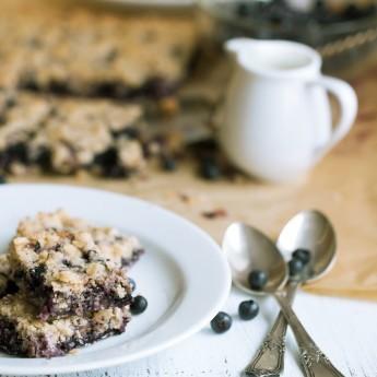 Torta Al Grano Saraceno E Mirtilli
