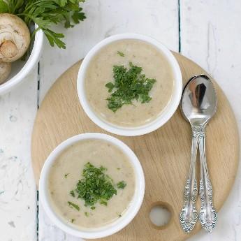 ricetta Vellutata con champignon