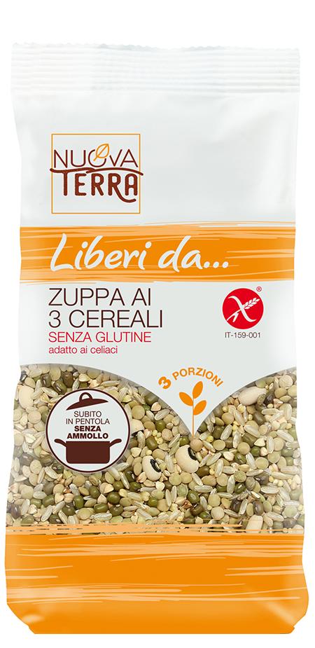 ricette con Zuppa ai 3 Cereali Senza Glutine