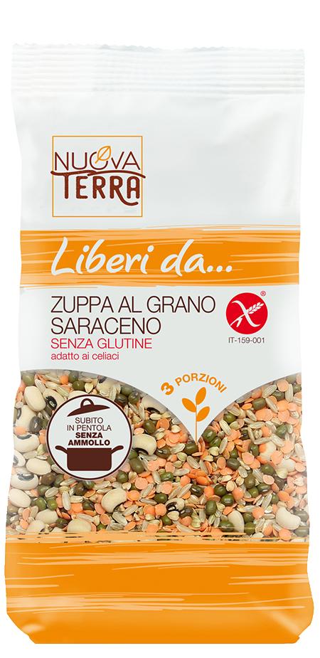 ricette con Zuppa al Grano Saraceno Senza Glutine