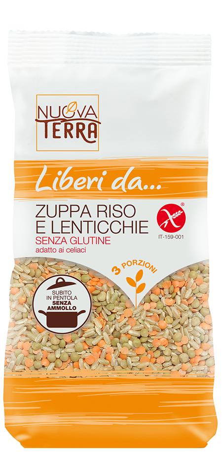 ricette con Zuppa Riso e Lenticchie Senza Glutine
