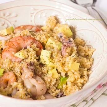 ricetta Insalata di bulghur con avocado e frutti di mare