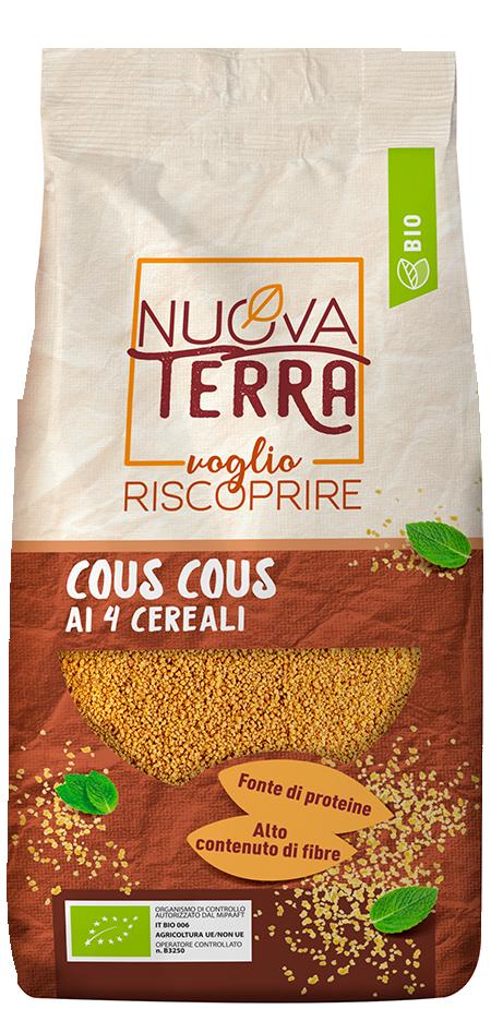 ricette con Cous Cous ai 4 Cereali Bio