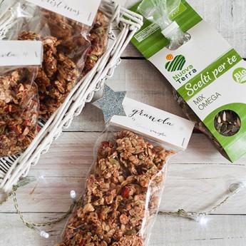 ricetta Granola ai semi con mandorle e nocciole