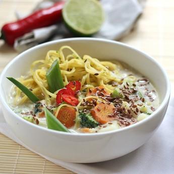 ricetta Zuppetta vegetale al latte di cocco