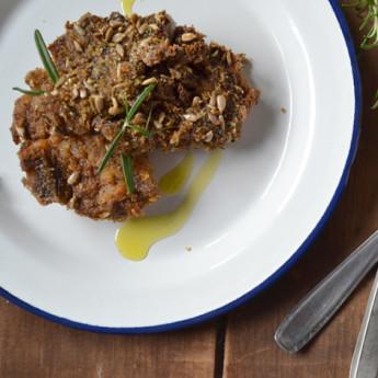 ricetta Agnello marinato alla soia e zenzero con semi croccanti