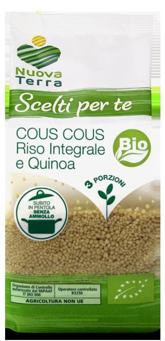 ricette con Cous Cous Riso Integrale e Quinoa bio