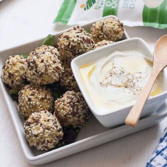 ricetta Polpette di fagioli e mix di semi