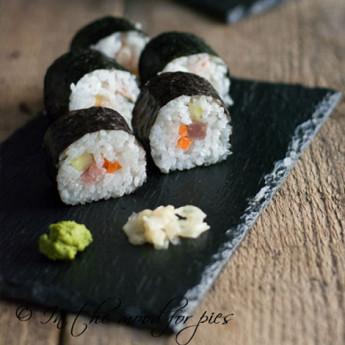 ricetta Sushi : hosomaki e uramaki
