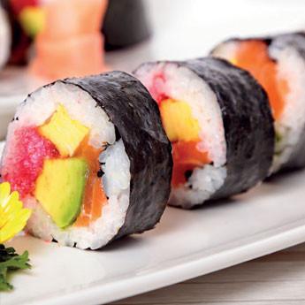 Sushi Maki tonno e salmone