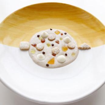 ricetta Zuppetta dolce di grano saraceno e farro perlato
