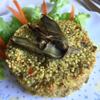 ricetta Burgers di quinoa e carciofi