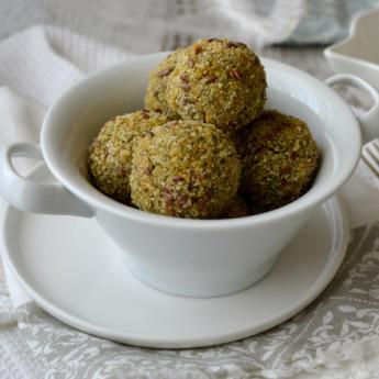 ricetta Polpette di quinoa e broccoletti