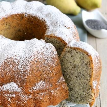 ricetta Torta ai semi di papavero e limone