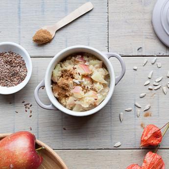 ricetta Porridge di quinoa e mele