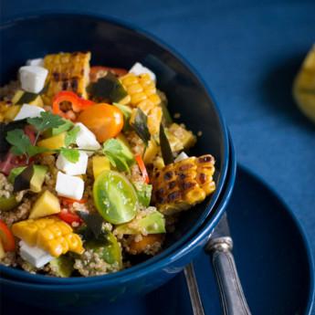 ricetta Insalata di quinoa con alga wakame