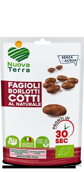 ricette con Fagioli Borlotti Bio