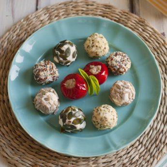 ricetta Formaggio home made con copertura di semi