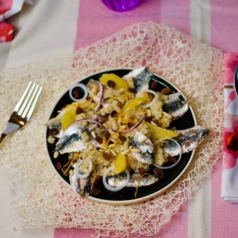ricetta Quinoa…in saor