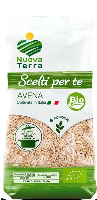 ricette con Avena Bio Coltivata in Italia
