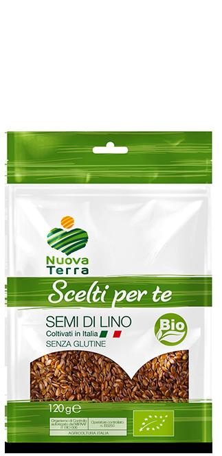 ricette con Semi di Lino Bio Coltivati in Italia