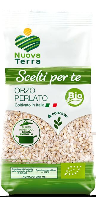 ricette con Orzo Perlato Bio Coltivato in Italia