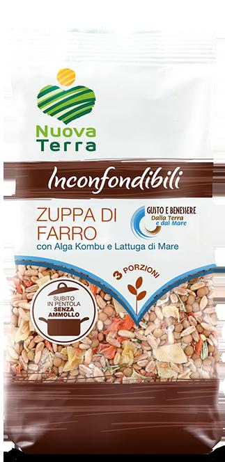 ricette con Zuppa di Farro con Alga Kombu