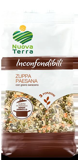ricette con Zuppa Paesana con Grano Saraceno